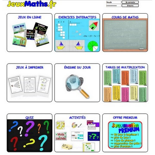 Jeuxmaths Des Centaines De Jeux Et Exercices De Mathematiques Classetice 1d